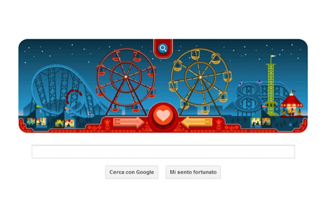 Doodle di Google San Valentino 2013