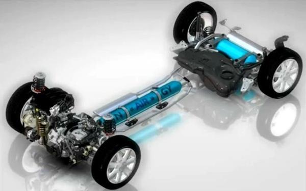 hybrid air veicolo ad aria compressa
