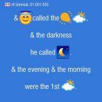 Sacra Bibbia tradotta con emoji